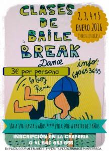 CLASES DE BREAK PGM ENE 2016